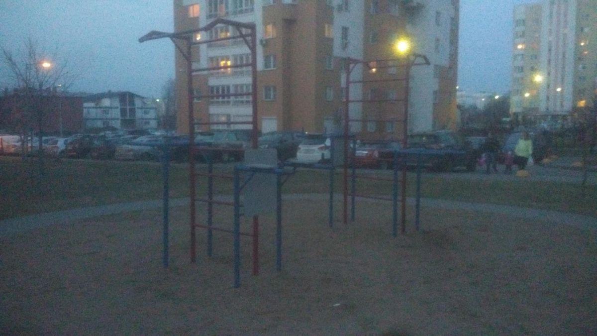 Minsk - Street Workout Park - Улица Сергея Есенина