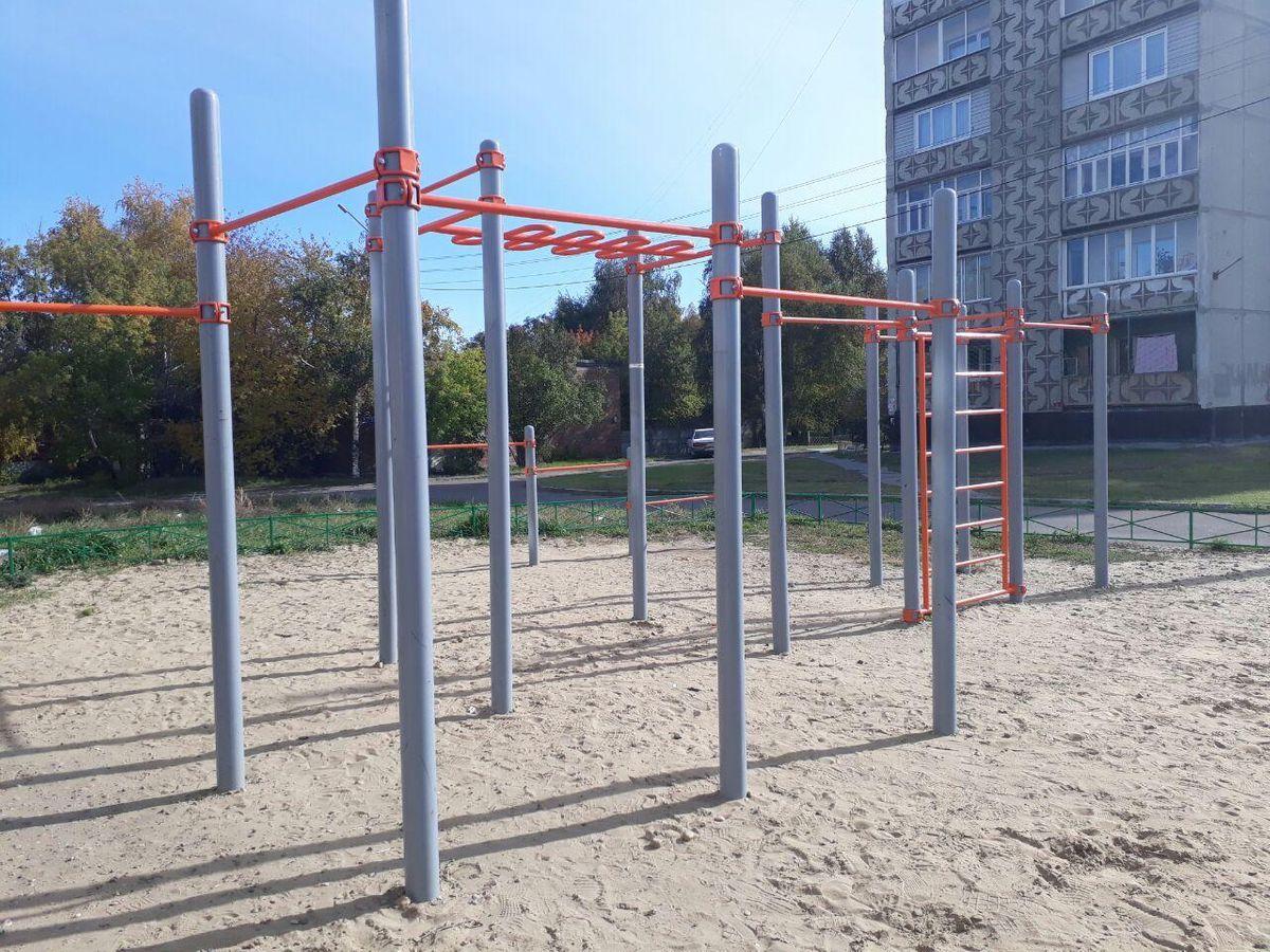 Angarsk - Street Workout Park - EVERREST