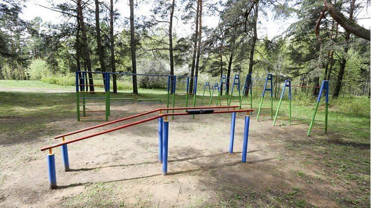 Minsk - Calisthenics Park - Улица Герасименко