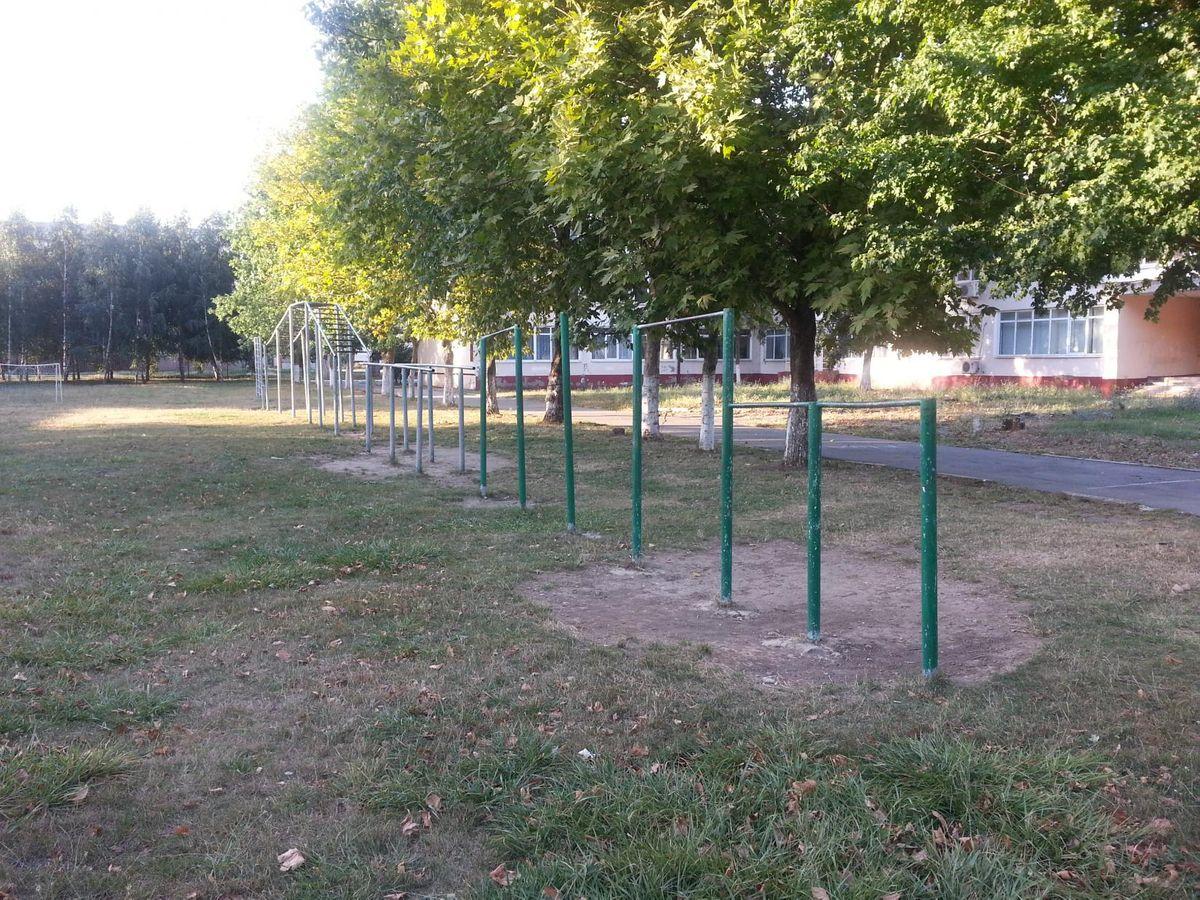 Anapa - Street Workout Park - Кубанская Улица