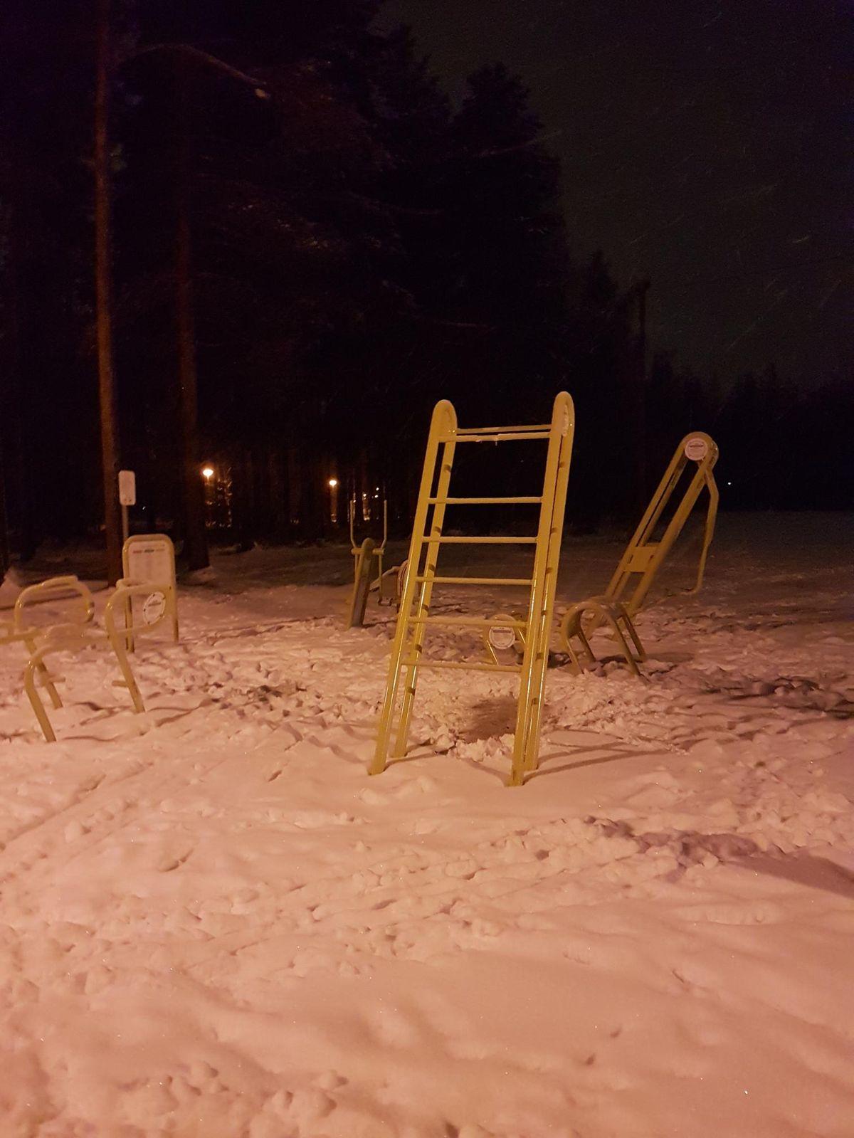 Joensuu - Calisthenics Park - Atraintie