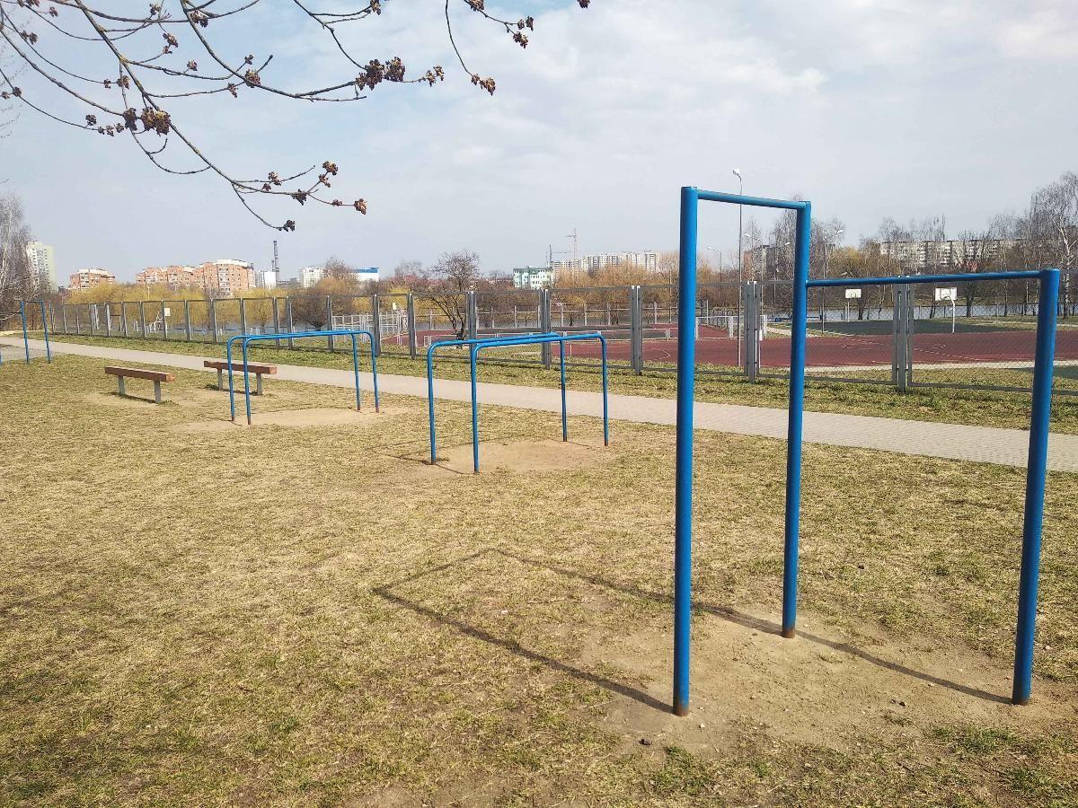 Minsk - Street Workout Park - Проспект Рокоссовского