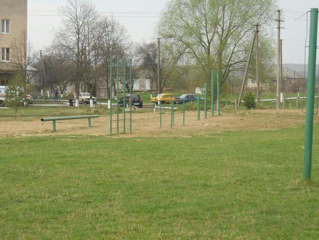 Chernihiv Oblast - Fitness Park - Холми