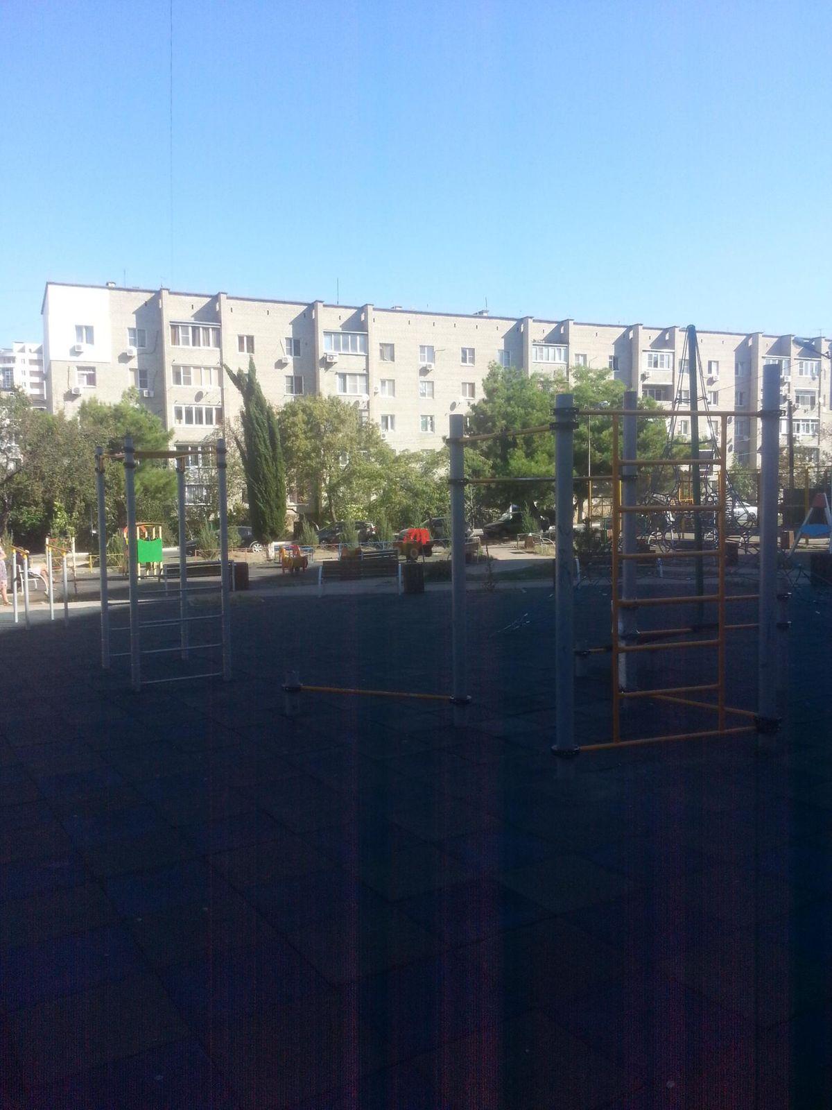 Gelendzhik - Outdoor Gym - Полевая Улица