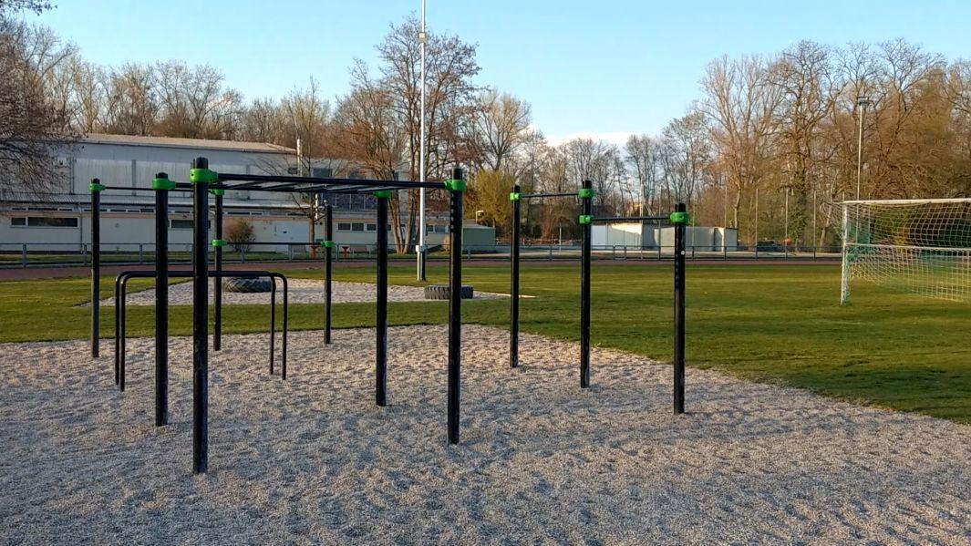 Karlsruhe - Outdoor Gym - Edgar-Heller-Straße