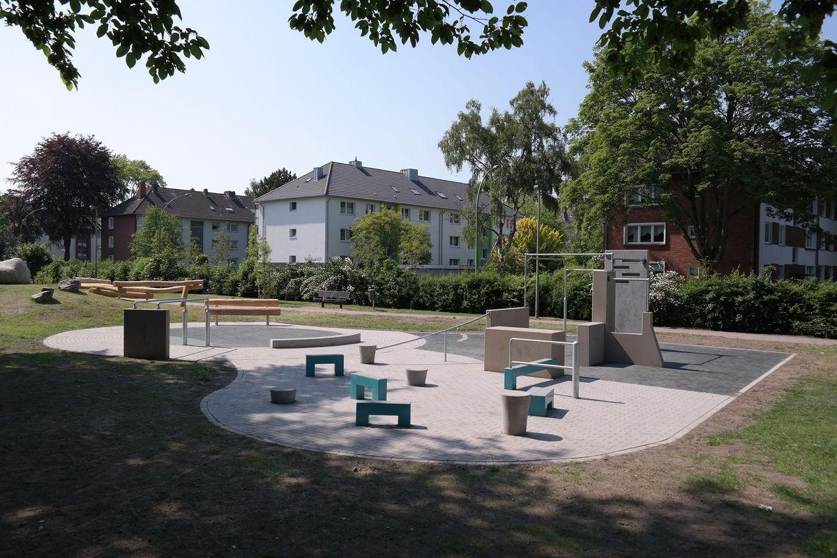 Herne - Parkour Park - Hölkeskampring