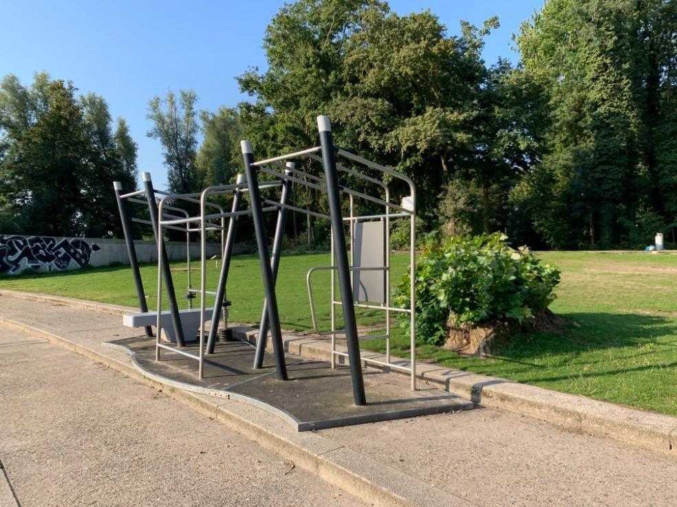 Amsterdam - Street Workout Park - Disc Golf Sloterpark