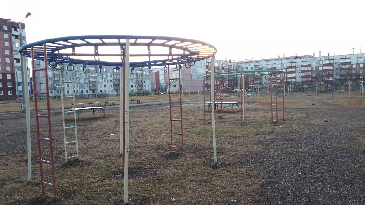 Sharypovo - Street Workout Park - Cherry