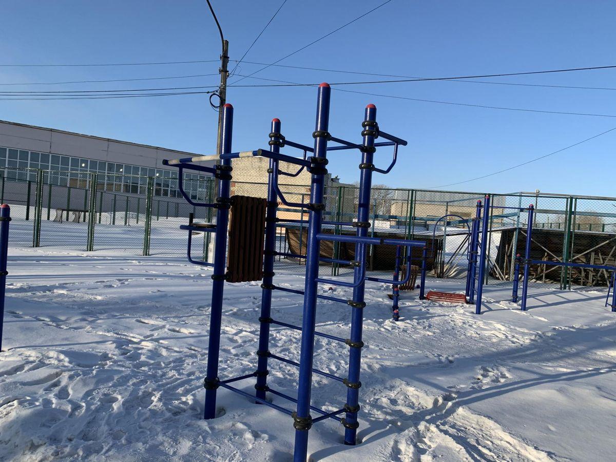 Achinsk - Street Workout Park - Рекорд