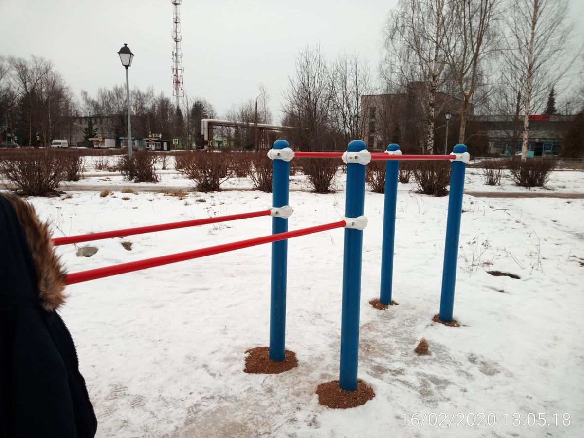 Torzhok - Street Workout Park - Дикси