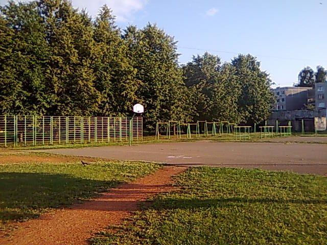 Riga - Calisthenics Gym - Ostvalda Vidusskola Stadions