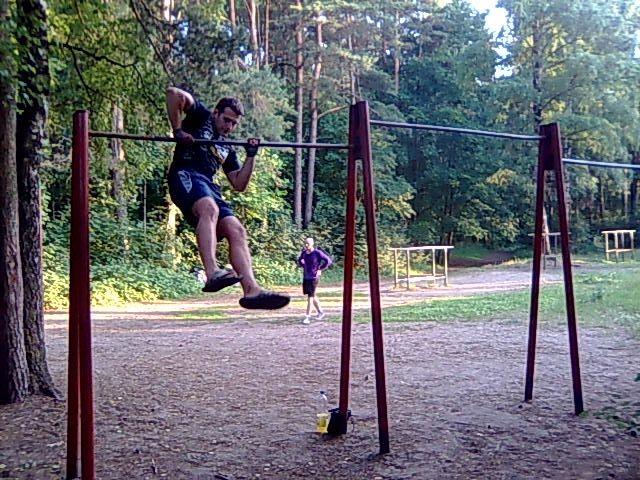 Riga - Street Workout Park - Pietura 'Imantas 7līnija'
