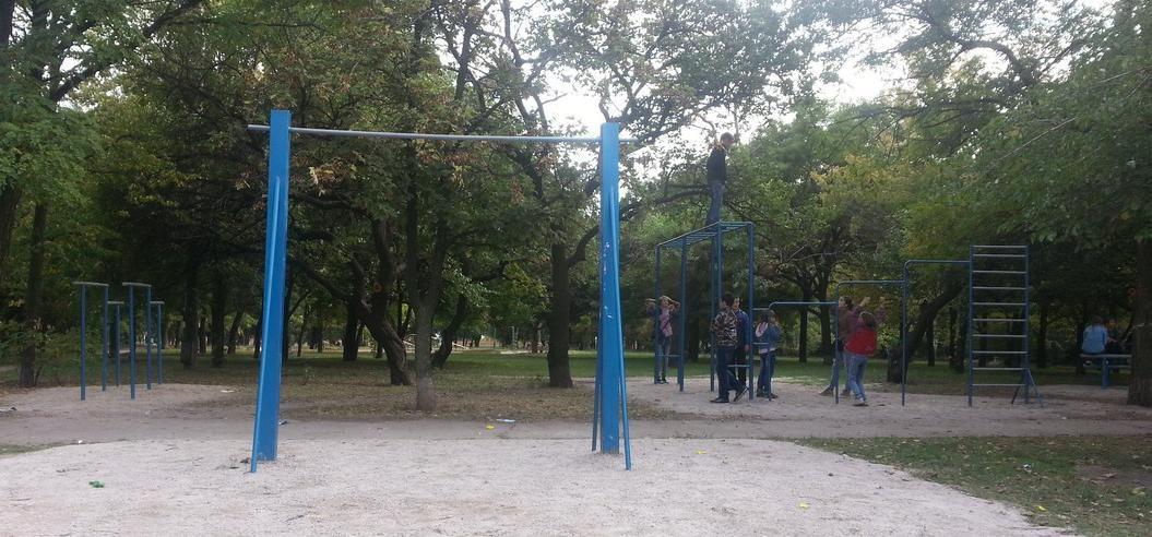 Zaporizhzhya - Aire de Fitness - Сквер