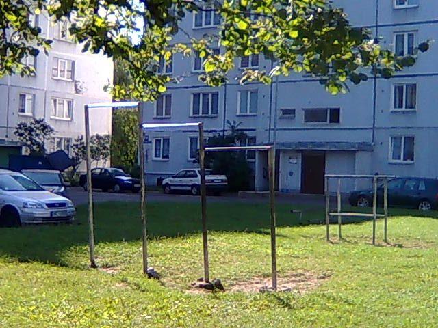 Riga - Street Workout Park - Kurzemes Prospekts 152