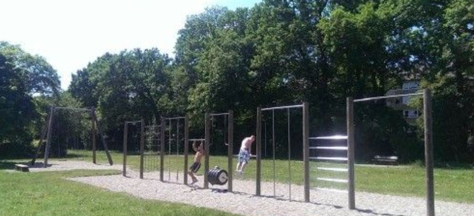 Karlsruhe - Street Workout Park - Waldstadt