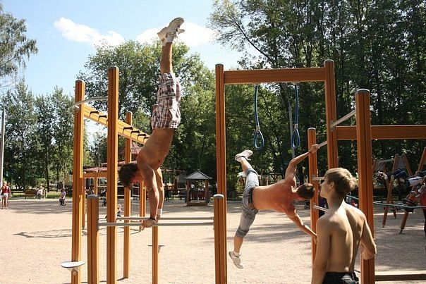 Riga - Street Workout Park - Playground