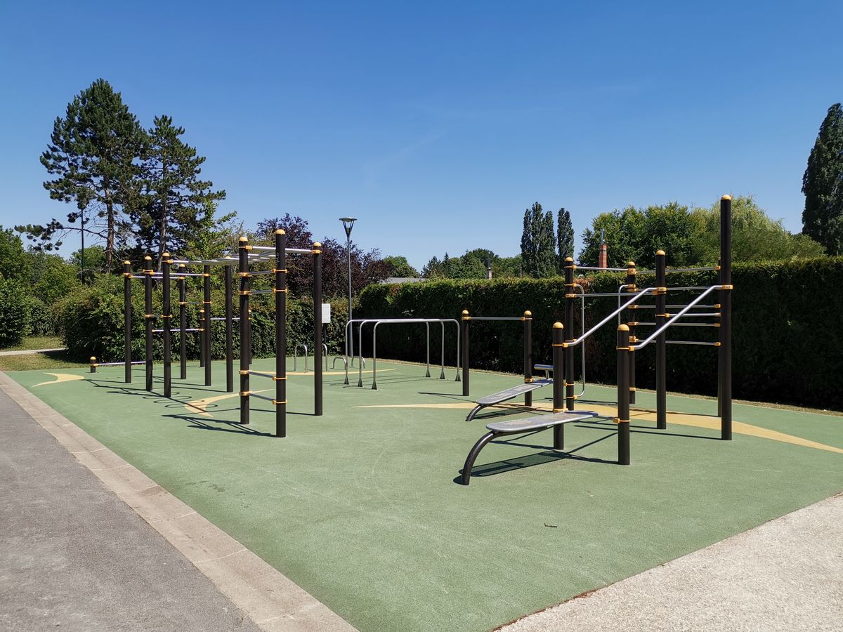 Gif-sur-Yvette - Calisthenics Park -  Parc des Sports Michel Pelchat - 2