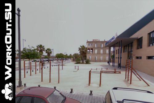 Valencia - Street Workout Park - Carrer De Mendizábal