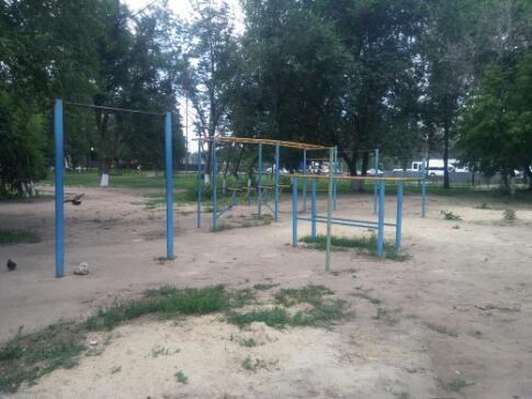 Voronezh - Street Workout Park - Общежитие ВГУ №5