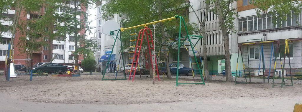 Tomsk - Aire de Fitness - Гимназия №29