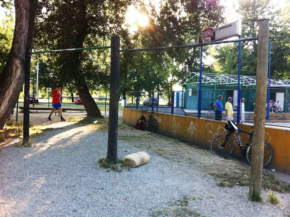 Zagreb - Street Workout Park - Aquarius