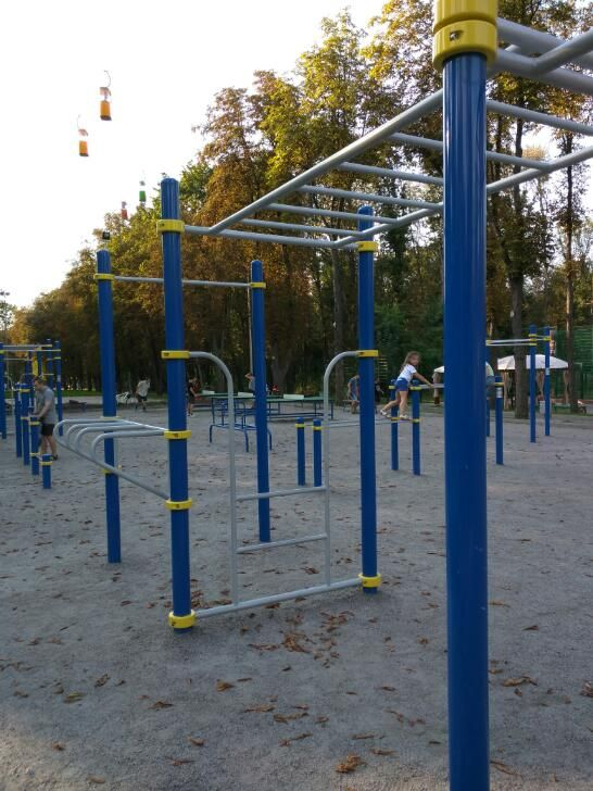 Kharkiv - Calisthenics Gym - Roller Park At Horkyi Park