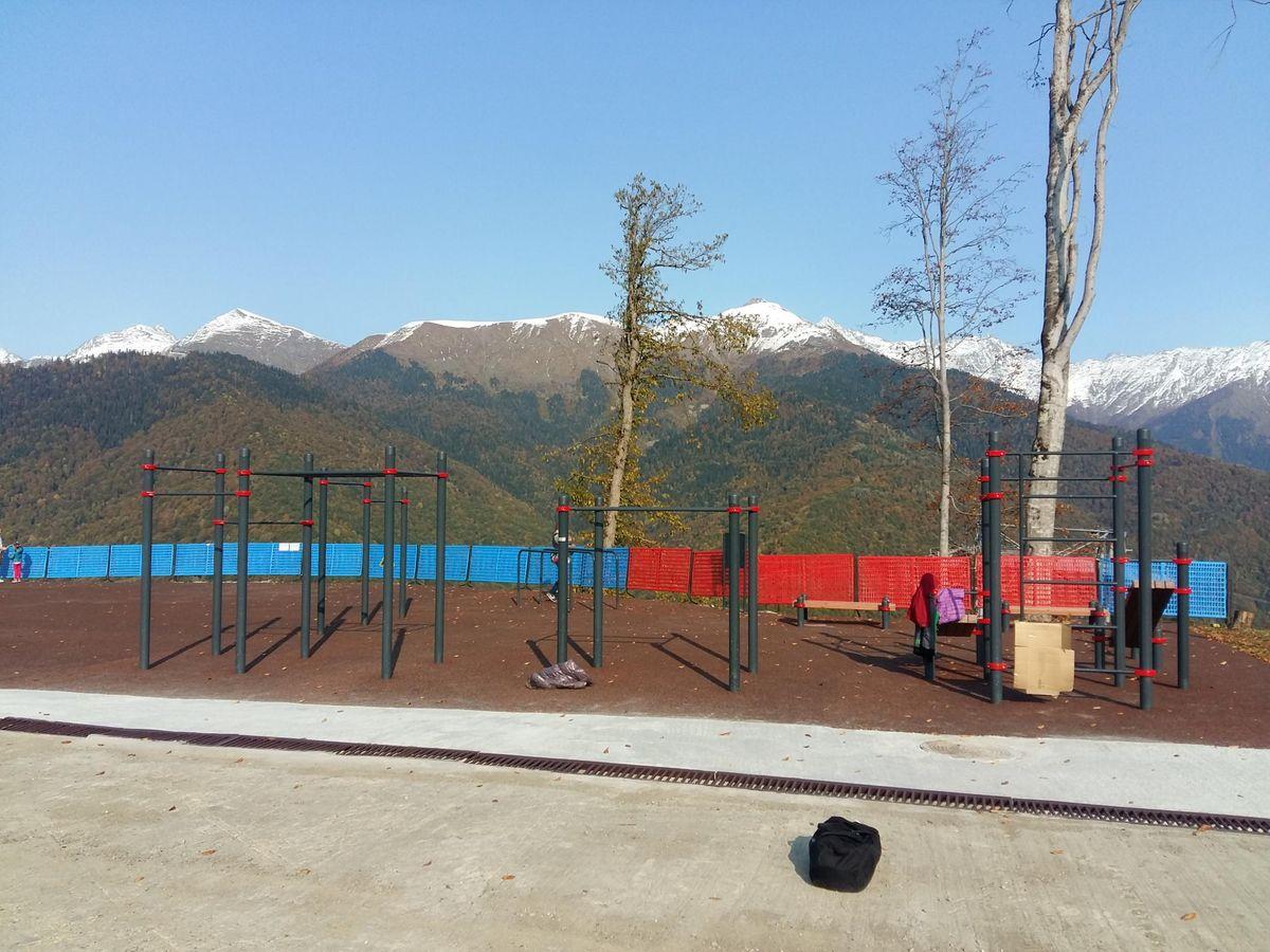 Sochi - Street Workout Park - Улица Сулимовка