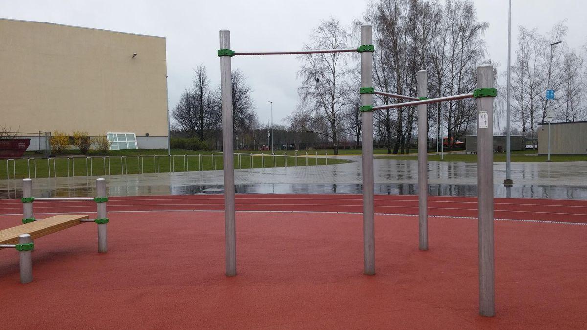 Riga - Street Workout Park - Talifa
