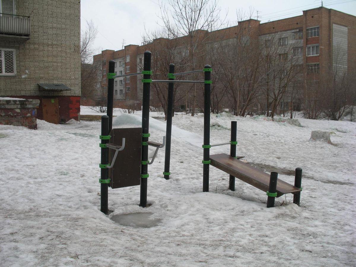 Novosibirsk - Calisthenics Park - Улица Сакко И Ванцетти