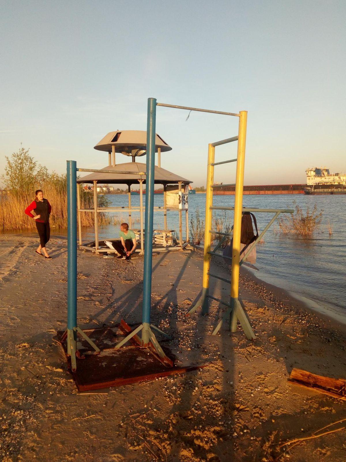 Rostov-on-Don - Calisthenics Park - Яхт-клуб Аврал