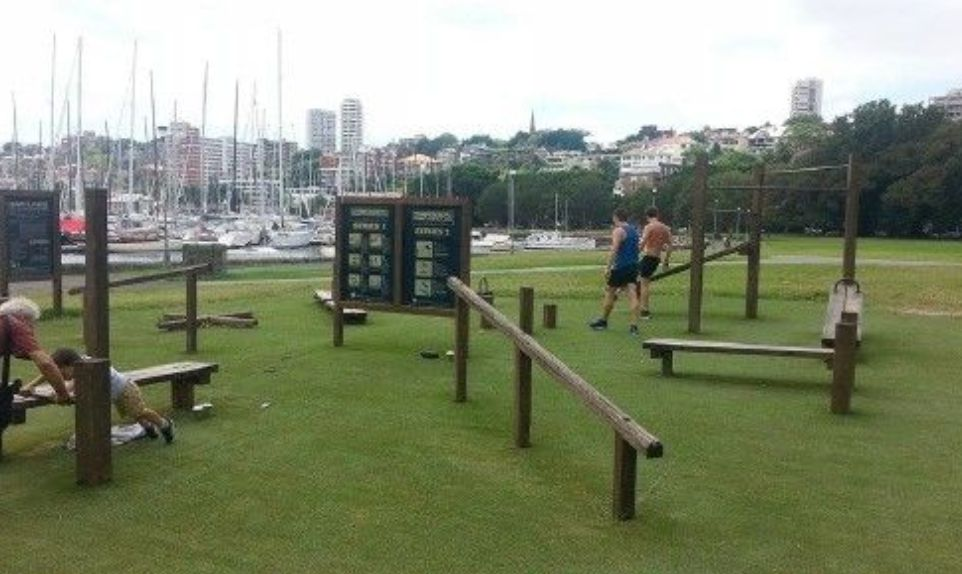 Sydney - Street Workout Park - New Beach Road