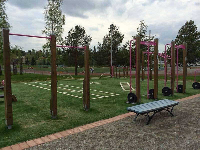 Pirkkala - Street Workout Park - Koulutie