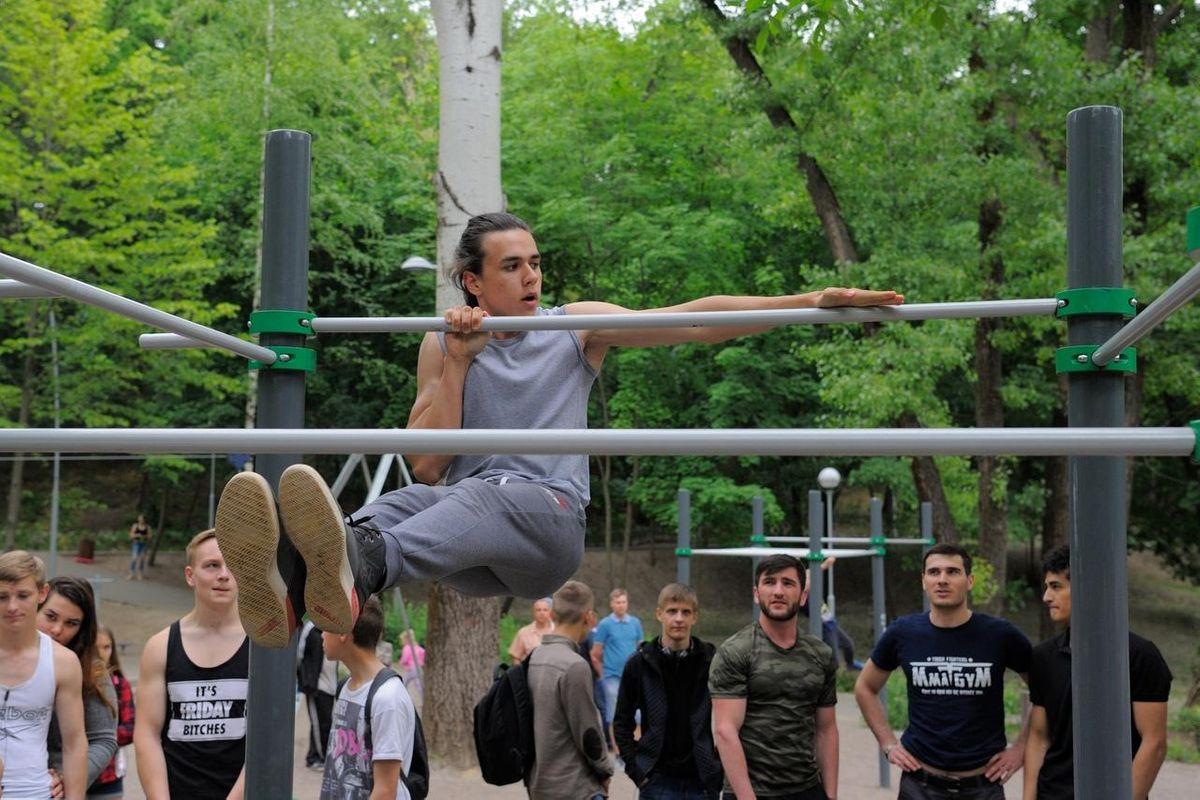 Voronezh - Street Workout Park - Стадион «Динамо»