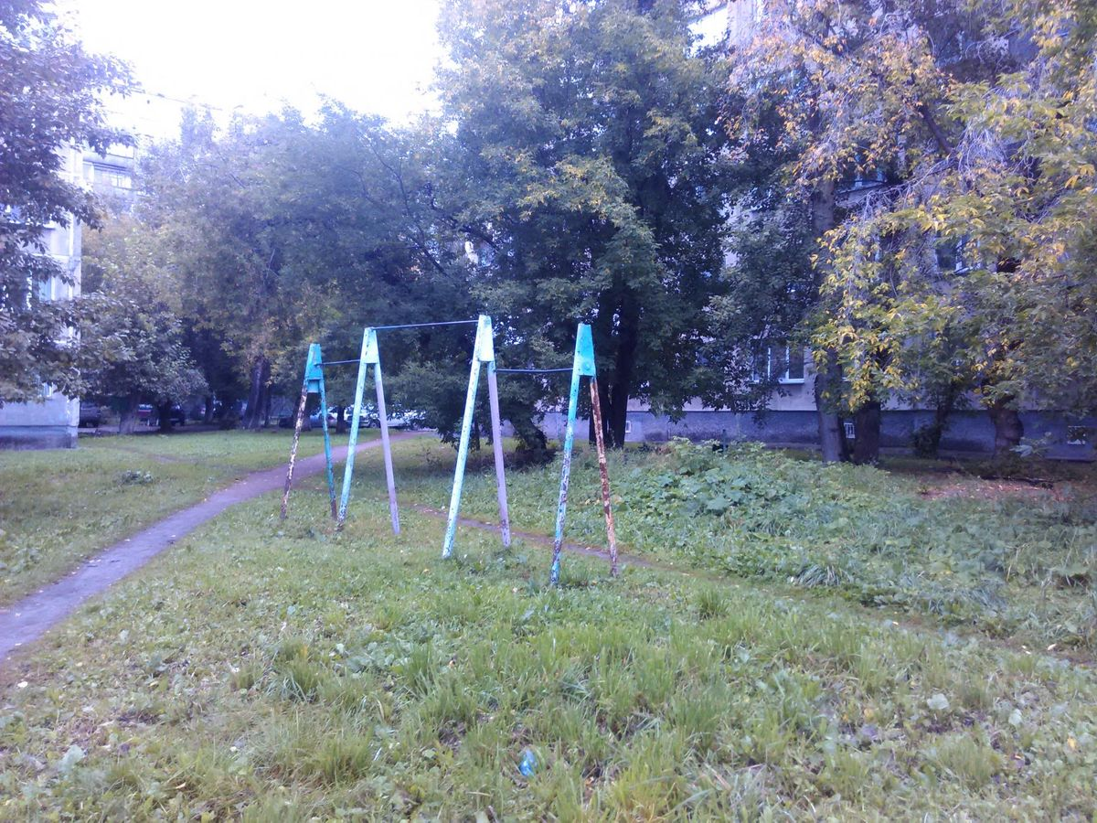 Novosibirsk - Street Workout Park - Улица Чехова