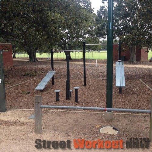 Melbourne - Street Workout Park - Entrance Avenue