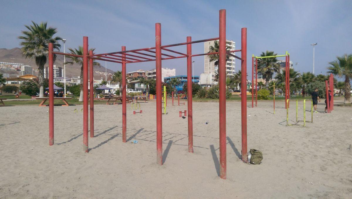 Antofagasta - Fitness Park - Republica De Croacia