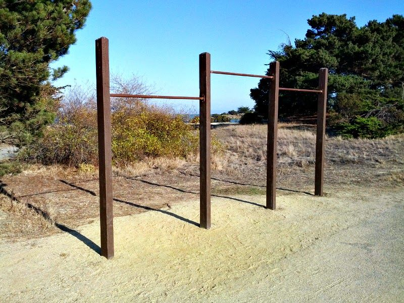 San Francisco - Street Workout Park - Donner Avenue