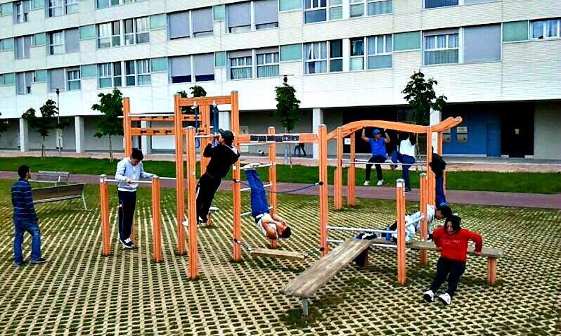 Vitoria-Gasteiz - Outdoor Gym - Aerodromoko Ibilbidea/Paseo Del Aeródromo