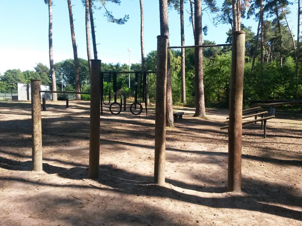 Dudenhofen - Street Workout Park - Abenteuerspielplatz Dudenhofen