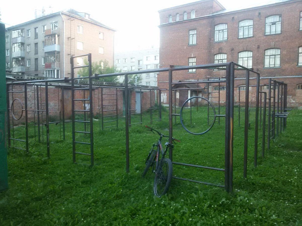 Yaroslavl - Street Workout Park - Почта России 150018
