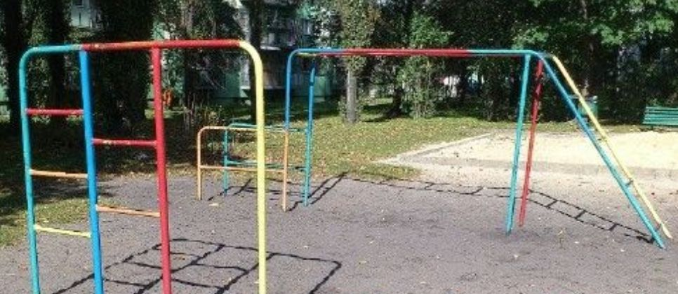 Łódź - Street Workout Park - Ulica Lniana