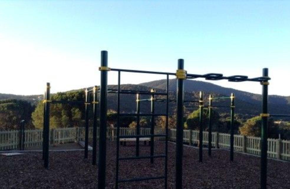 Sainte-Maxime - Street Workout Park - Chemin Des Cigales