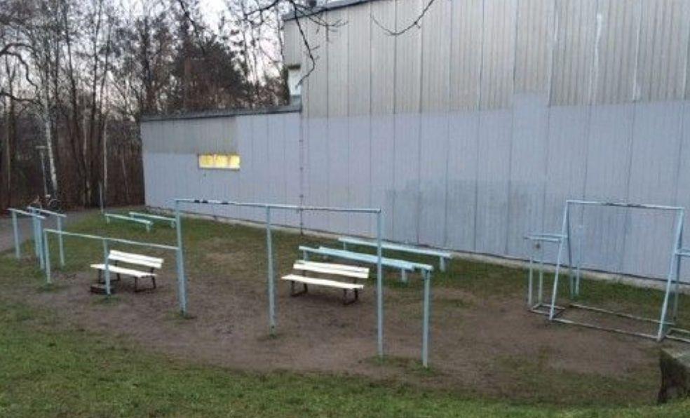 Dresden - Calisthenics Park - Fakultät Erziehungswissenschaften Weberplatz