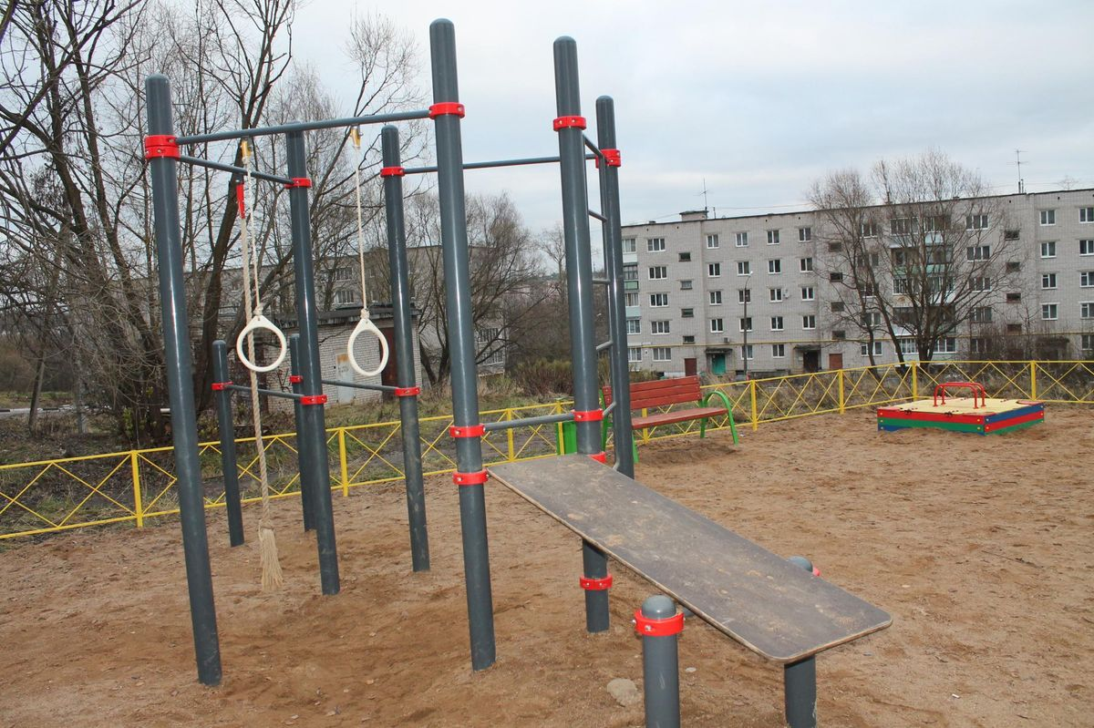 Torzhok - Street Workout Park - Бутик
