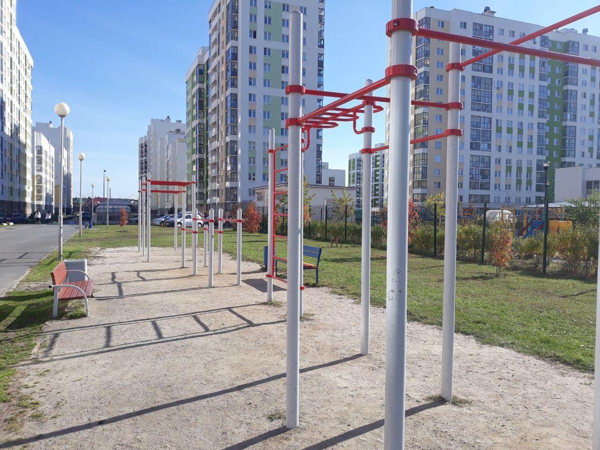 Yekaterinburg - Street Workout Park - Инвитро