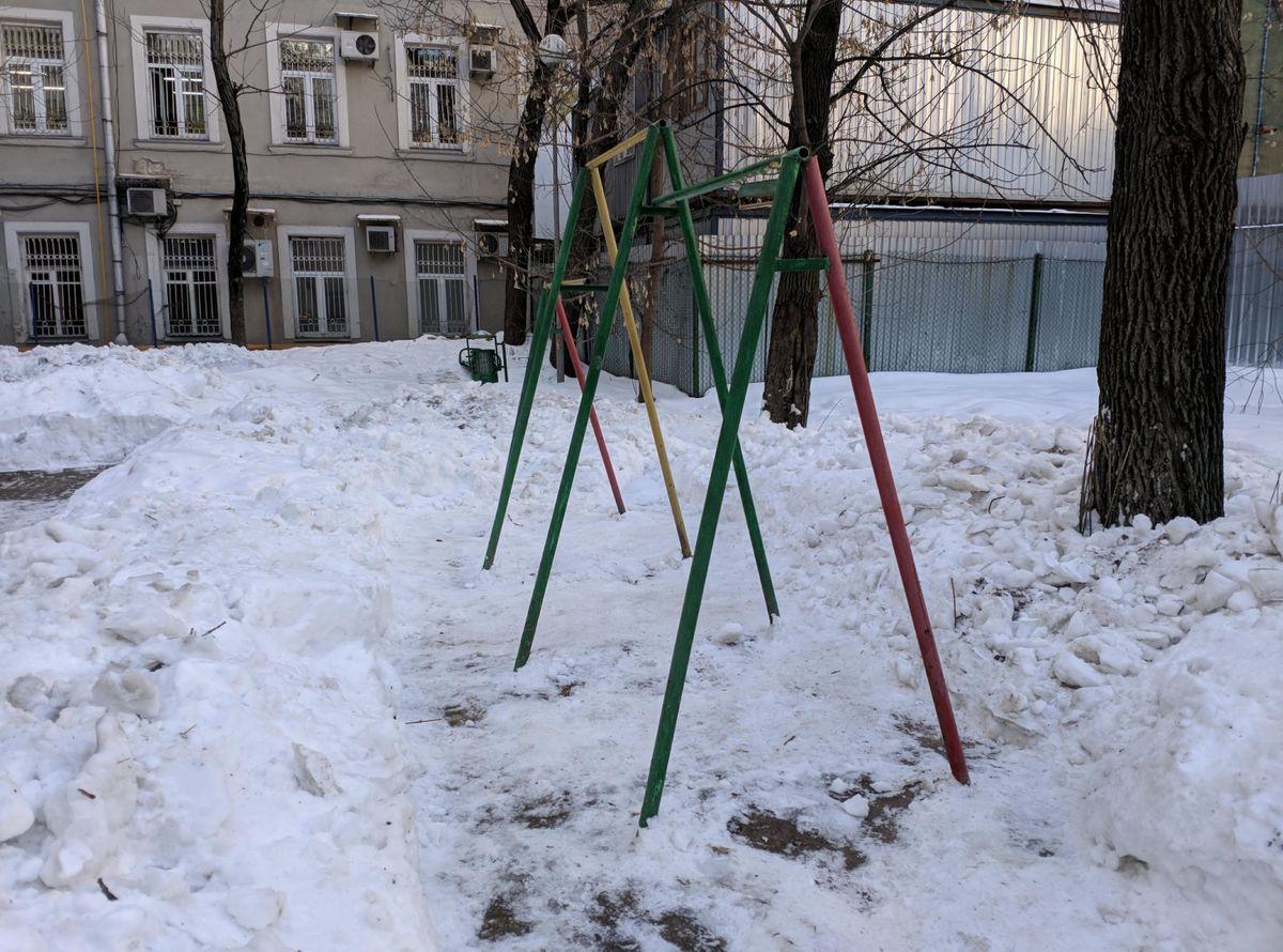 Moscow - Street Workout Park - Улица Остоженка