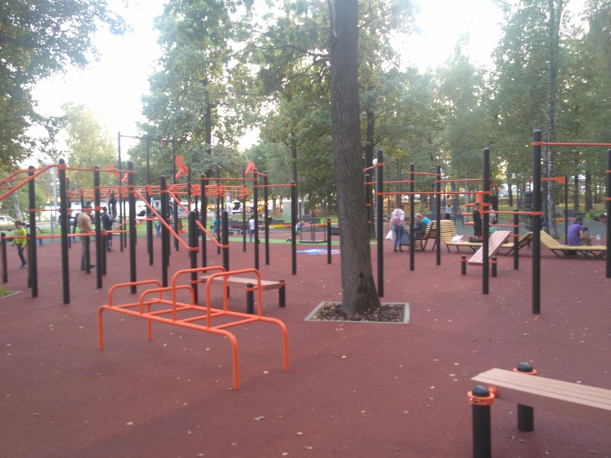 Moscow - Street Workout Park - Парк «Центральный»