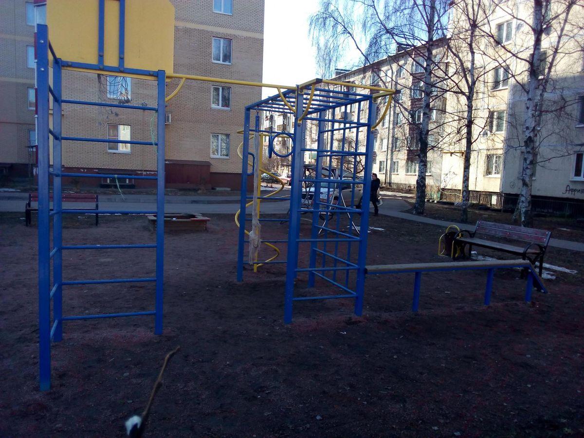Telmanovskoe - Street Workout Park - Тельмана 46