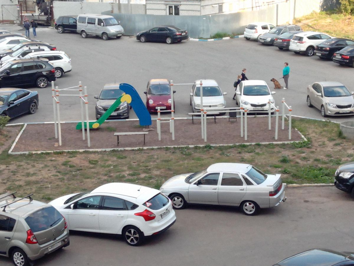 Ulyanovsk - Calisthenics Park - ЗАО Ультрамарин