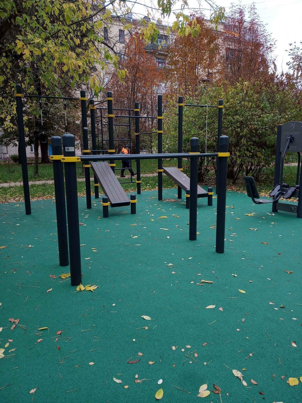 Moscow - Street Workout Park - Ул Кооперативная